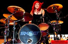 Jess.  Jess is based completely on Jen Ledger, the awesome female drummer with Skillet