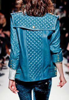 .... a Balmain F/W 2012 jacket.