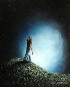Daughter Painting - I Love Her So Much I Cry By Shawna Erback by Shawna Erback