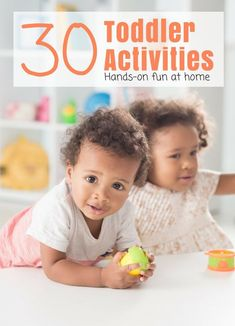 Discover super easy and fun learning activities and games for toddlers with Toddler Time. Activities for Toddlers to do with your child at home. Toddler School, Toddler Play, Tot School, Toddler Crafts, Calming Activities, Fun Activities For Toddlers, Infant Activities, Learning Colors, Fun Learning