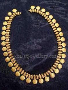 Jewellery Designs: Kasumala Patterned Ram Leela Haram