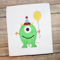 Birthday Monster Shirt Cute Birthday Monster by kmtdesigns914