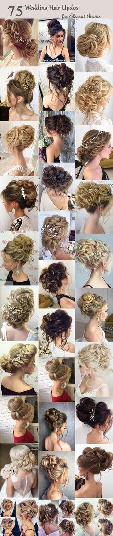 Half-updo Braids Chongos Updo Wedding Hairstyles
