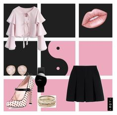 BP in ur area 🌟 by daqueenr on Polyvore featuring polyvore fashion style Chicwish Alexander Wang RED Valentino Kendra Scott Rado Monica Vinader clothing