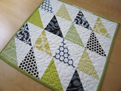 Simple Triangle Block Sew-Along | Sew Mama Sew | Outstanding sewing, quilting, and needlework tutorials since 2005.