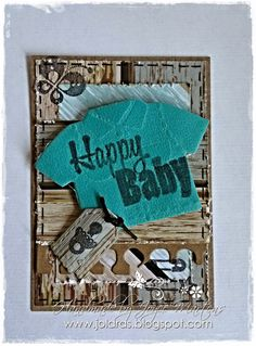 Creaties by Joyce Martens: Happy Baby ATC