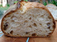Sourdough Bread Recipe, Sourdough Starter, Sourdough Bread Baking, Sourdough Bread Starter (Part Artisan Sourdough Bread Recipe, Sourdough Bread Starter, Sourdough Recipes, Artisan Bread, Bread Recipes, Cooking Recipes, Wild Yeast Bread Recipe, Artisan Food, Peasant Bread