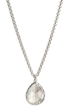 Ippolita 'Rock Candy' Teardrop Pendant Necklace available at #Nordstrom