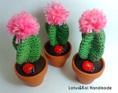 Made with this pattern : http://besenseless.blogspot.it/2013/10/cactus-amigurumi-free-pattern.html Visit my page on FB : https://www.facebook.com/AmigurumidiFaby?ref=hl