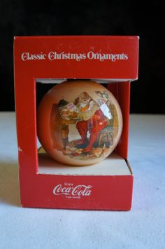 Clasic Christmas Ornaments By Coca Cola