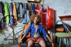 Fulu Mugovhani, the title character of 'Ayanda and the Mechanic'