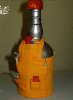 Новогодняя ярмарка идей. Чехол на бутылку. Подборка .. Обсуждение на LiveInternet - Российский Сервис Онлайн-Дневников