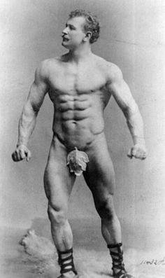 Eugen Sandow was once an image of masculine perfection