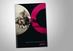 Driven Marketing. Corporate and Brand Identity by Higher s.r.o., via Behance