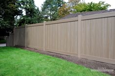 Vinyl Privacy Fence & Vinyl Privacy Fencing Material | RicksFencing.com