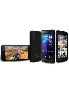BLU Quattro 4.5 Unlocked Phone with NVIDIA Tegra 3 Quad-Core Processor, Android 4.0, 3G HSPA+, and 5MP Camera - U.S. Warranty (Black)