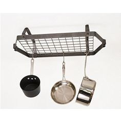 Enclume HS Low-Ceiling Retro Rectangle -- You can get additional details at the image link. (This is an affiliate link) Pot Rack Hanging, Hanging Pots, Small Dining Area, Kitchen Must Haves, Easy Home Decor, Kitchenware, Kitchen Dining, Ceiling, Pot Racks