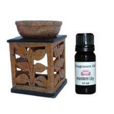 Rising Leaf Aromatherapy Oil Burner