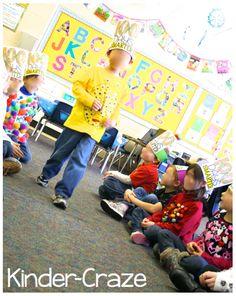 A Fabulous 100th Day of School - Kinder Craze: A Kindergarten Teaching Blog
