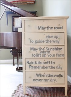 May the Road... Dresser