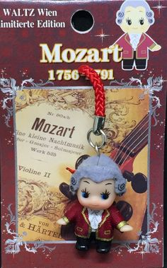 [Wienna, Austria] Regional Kewpie - Mozart -【ウィーン】ワルツ限定ご当地キューピー モーツアルト
