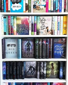 The bottom 2 shelves could be mine❤️ The Reader Bee