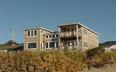 Rockaway Beach House Rental: Amazing Beach Front House In Rockaway Beach   HomeAway Good rate.  See if a another is close by to combine.
