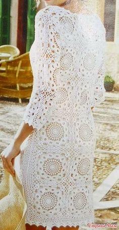 Roupas Artesanais: Vestido Branco