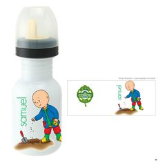 Caillou Planting Sippy Bottle