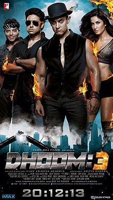 My Bollywood: Movie Review: Dhoom 3: Whole Credit For Good Collection Goes To Aamir Khan