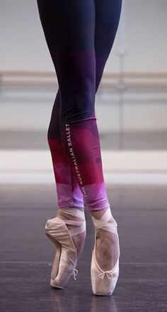 Beautiful legs of Australian Ballet Dancer