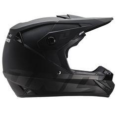 ONE Ind. ATOM STEALTH Helmets (BLK) *DOT//ECE*