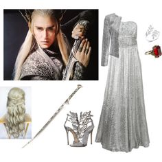 Thranduil. by yoli-potterhead on Polyvore featuring Michael Kors, Giuseppe Zanotti and Alexander McQueen