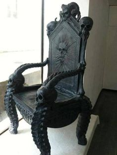 Badass Skull Chair