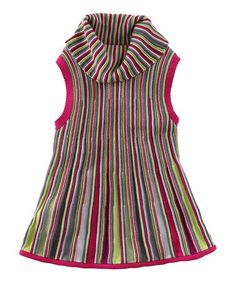 Take a look at this Bouquet Aalto Stripe Sweater Tunic - Toddler by Tea Collection on #zulily today!