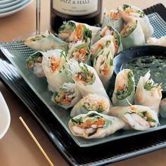Shrimp Rice-Paper Rolls with Vietnamese Dipping Sauce Recipe | Key Ingredient