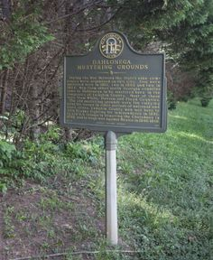 Dahlonega Mustering Grounds Historic Marker