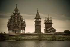 Kizhi, however, is unique in the range and distinction of its collection, from simple barns to the towering log Church of the Transfiguration of the Savior, with its 22 cupolas.