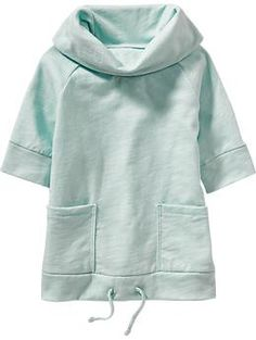 Cowl-Neck Pullover Tunic for Baby