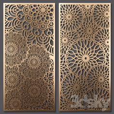 3d models: Other decorative objects - Decorative partition