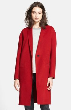 Vince Modern Wool Blend Coat available at #Nordstrom