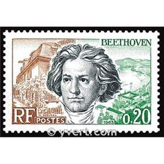 Beethoven -  Timbre France Poste