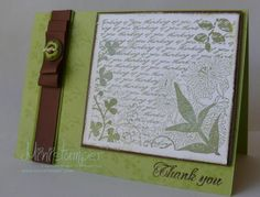 Card made with Stampin' Up! products by www.ministamper.com