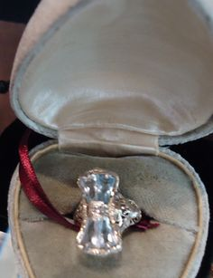 Lovely Aquamarine and 14K White Gold Ring!  Check them out at The Corner Shoppe, 27 Calendar Ave, LaGrange, IL 708-579-2425