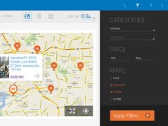 Android Tablet App - by Indicius | #ui #android
