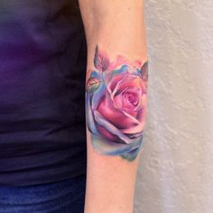 Colorful rose by Anna Yershova