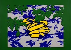 Patrick Caulfield 'Bananas and Leaves', 1977 © The estate of Patrick Caulfield. All Rights Reserved, DACS 2014