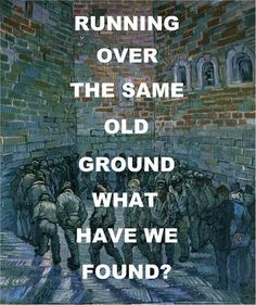 Pink Floyd - what have we found... The same old fears ...