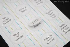 The Gunny Sack: {handmade} Back to School - Kid's Lunchbox Jokes Printable