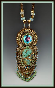 beaded art jewelry - Google Search